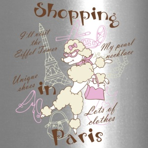 Shopping in Paris - Travel Mug