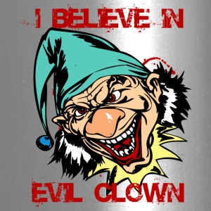 EVIL_CLOWN_27_believe - Travel Mug