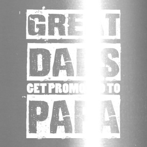 Great Dads Get Promoted To Papa T Shirt - Travel Mug