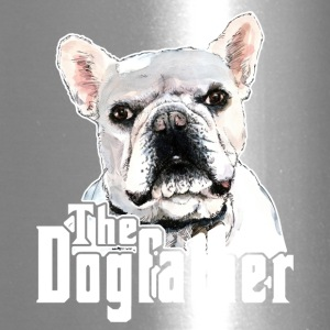 The Dogfather French Bulldog Tee Shirt - Travel Mug