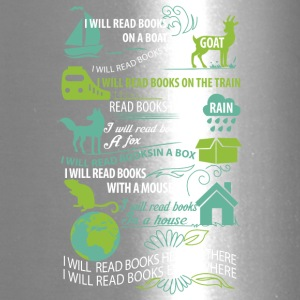 I will read books here or there and everywhere - Travel Mug