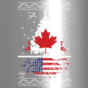 Canadian with American root - Travel Mug