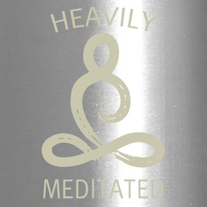 Heavily meditated - Travel Mug