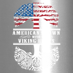 American grown with viking roots - Travel Mug