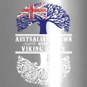 Australian grown with viking roots - Travel Mug