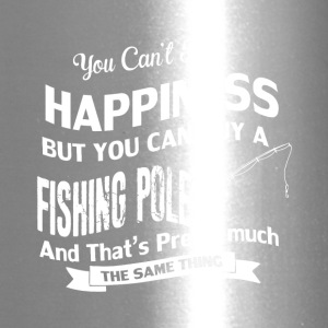 You can't buy happiness but you can buy a pole - Travel Mug