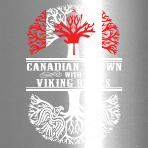 Canadian grown with viking roots - Travel Mug
