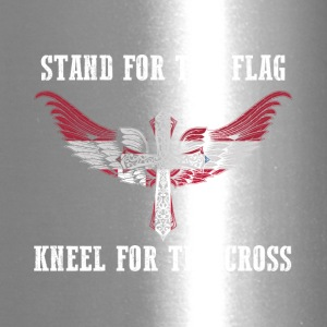 Stand for the flag Denmark kneel for the cross - Travel Mug
