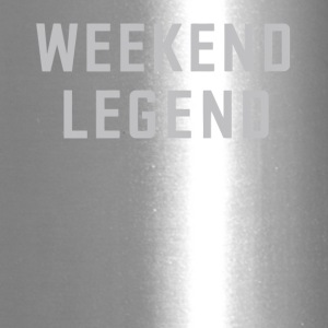Weekend legend gift shirt - Travel Mug