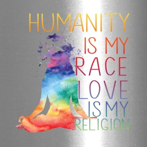Humanity is my race Love is my religion - Travel Mug