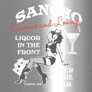 Sancho casino and lounge Liquor in the front - Travel Mug