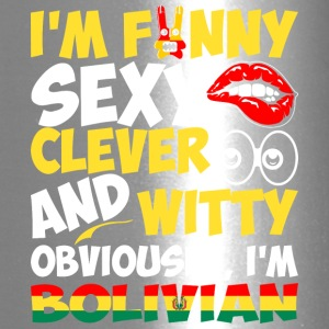 Im Funny Sexy Clever And Witty Im Bolivian - Travel Mug