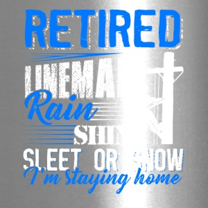 Retired Lineman Shirt - Travel Mug