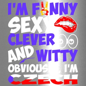 Im Funny Sexy Clever And Witty Im Czech - Travel Mug