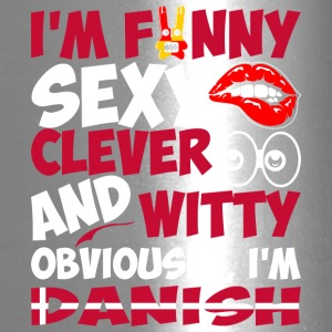 Im Funny Sexy Clever And Witty Im Danish - Travel Mug