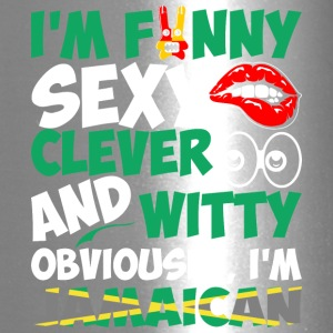 Im Funny Sexy Clever And Witty Im Jamaican - Travel Mug