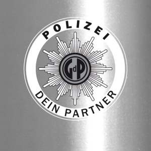 polizei Police Signet german Partner Safety Humor - Travel Mug