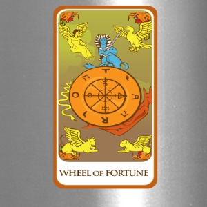 Wheel Of Fortune Tarot Card Tee Shirt - Travel Mug