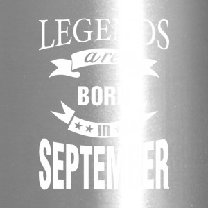 Legends are born in September - Travel Mug