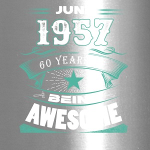 June 1957 - 60 years of being awesome - Travel Mug
