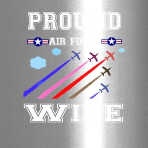 Pround air force wife T-shirt - Travel Mug
