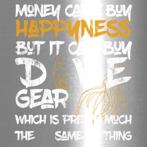 Money can't buy happyness but it can buy DIVE Gear - Travel Mug
