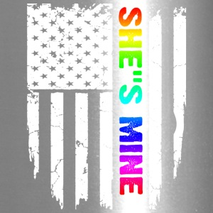 SHE S MINE RAINBOW FLAG T-Shirt - Travel Mug