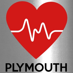 Heart Plymouth - Travel Mug