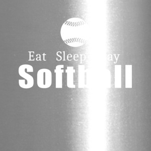 Eat Sleep Play Softball- cool shirt, geek hoodie - Travel Mug