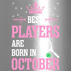 Best Players Are Born In October - Travel Mug