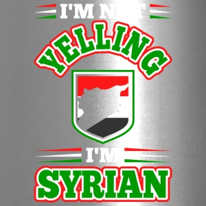 Im Not Yelling Im Syrian - Travel Mug