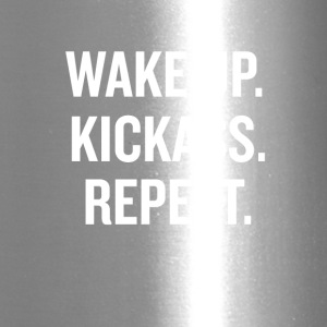 Wake Up Kick Ass - Travel Mug