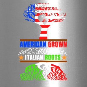 American grown with italian roots - Travel Mug