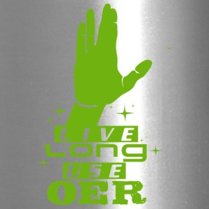 Live Long Use OER (Green) - Travel Mug