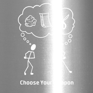 Choose Your Weapon Rock Paper Scissors - Travel Mug