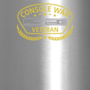 Gold Console War Veteran Cyber System - Travel Mug