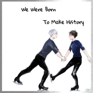 Yuri On Ice; We Were Born To Make History - Travel Mug