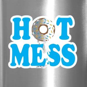 Hot Mess Tee - Travel Mug