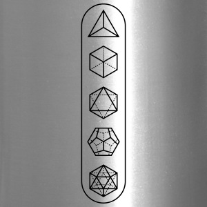 platonic-solids - Travel Mug