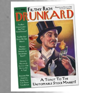 Filthy Rich Drunkard - Travel Mug