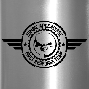 Zombie apocalypse first responder team - Travel Mug