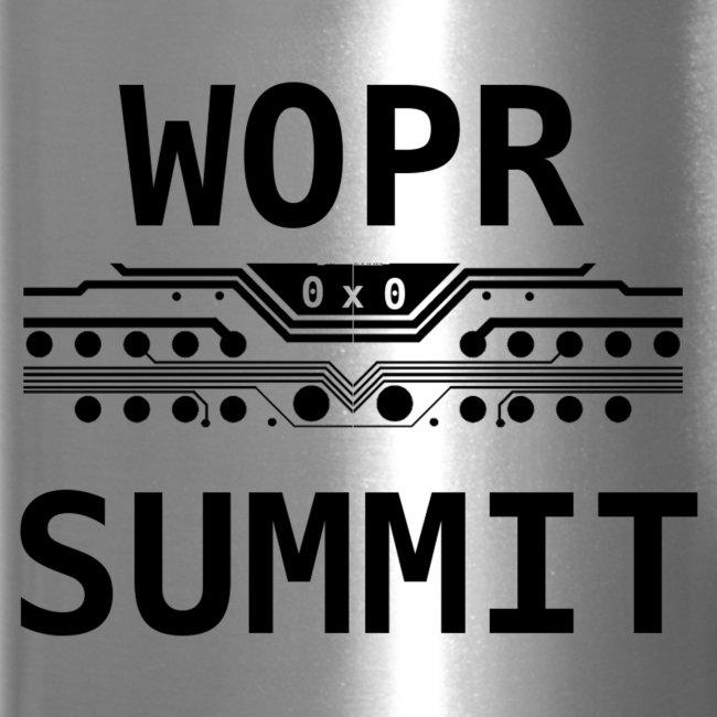 WOPR Summit 0x0 Black Text Misc
