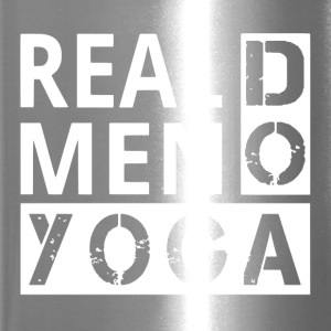 Real men Do Yoga - Travel Mug
