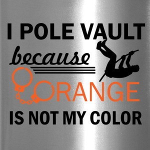 pole vault design - Travel Mug