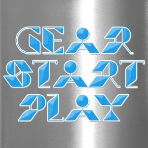 gear start play - Travel Mug