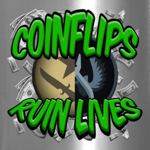 COINFLIPS RUIN LIVES - Travel Mug