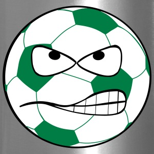 Angry Soccer Ball - Travel Mug