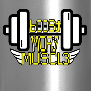 Boost More Muscle T-shirt - Travel Mug
