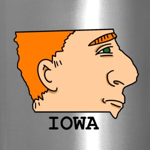 A funny map of Iowa 2 - Travel Mug
