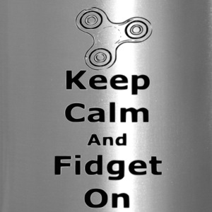 Keep Calm Fidget on - Travel Mug